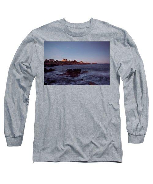 Blue Hour In Gloucester Long Sleeve T-Shirt
