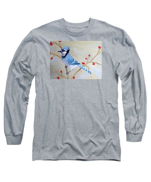 Blue Jay Long Sleeve T-Shirt