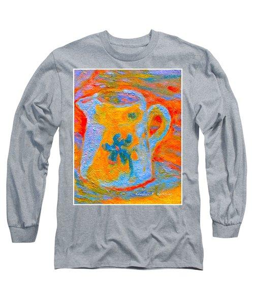 Blue Life Long Sleeve T-Shirt