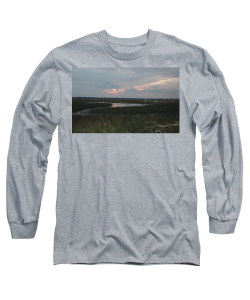 Blue Pink Long Sleeve T-Shirt