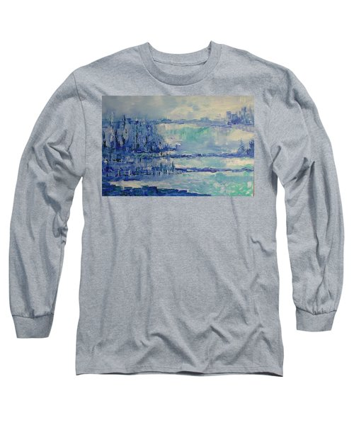 Blue Reflections Long Sleeve T-Shirt