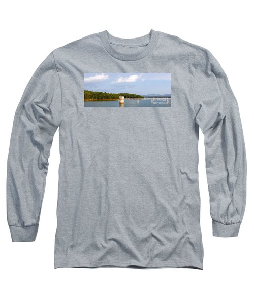Long Sleeve T-Shirt featuring the photograph Blue Ridge Dam by Michael Waters