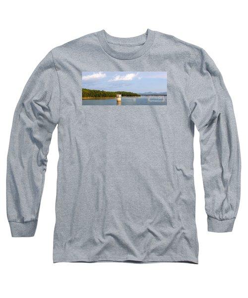 Blue Ridge Dam Long Sleeve T-Shirt by Michael Waters