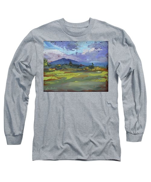 Blue Ridge Parkway Lookout Long Sleeve T-Shirt