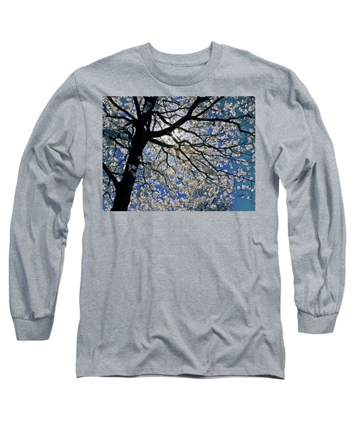 Long Sleeve T-Shirt featuring the photograph Blue Skies Smiling At Me by Linda Unger