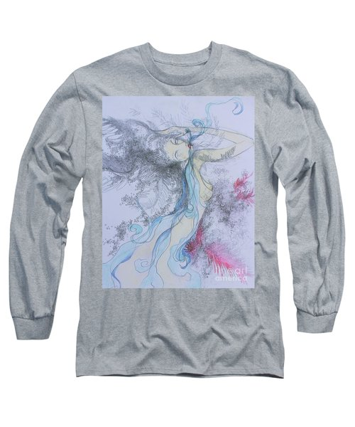 Blue Smoke And Mirrors Long Sleeve T-Shirt
