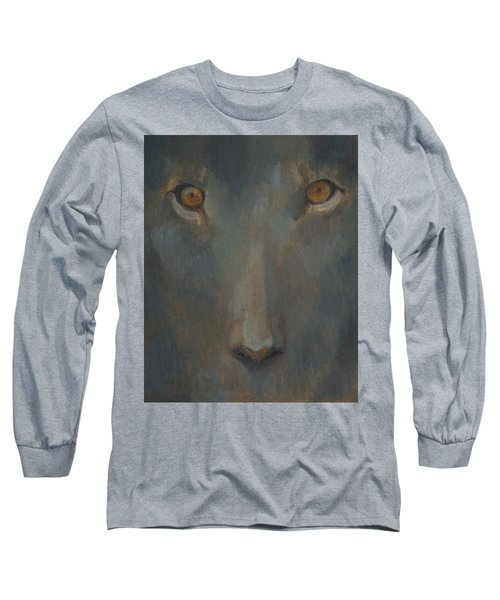 Blue Sphinx Long Sleeve T-Shirt