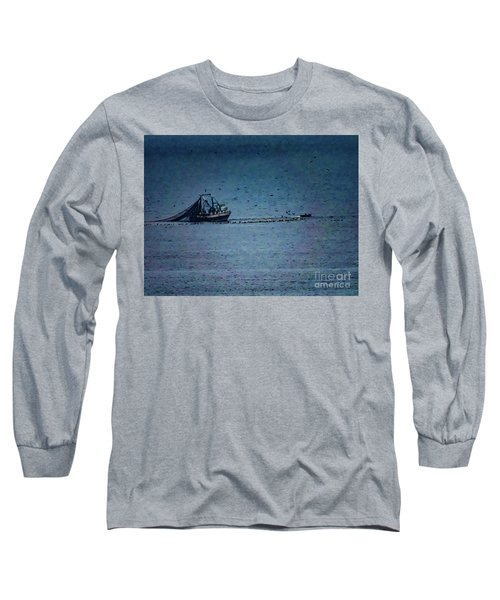 Blue Trawler 1 Long Sleeve T-Shirt