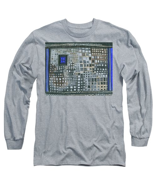 Blue Blue Windows Long Sleeve T-Shirt