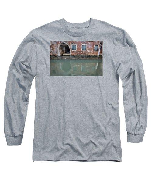 Blue Windows Long Sleeve T-Shirt