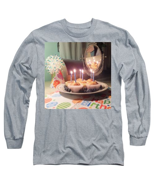 Blueberry Muffin Birthday Long Sleeve T-Shirt