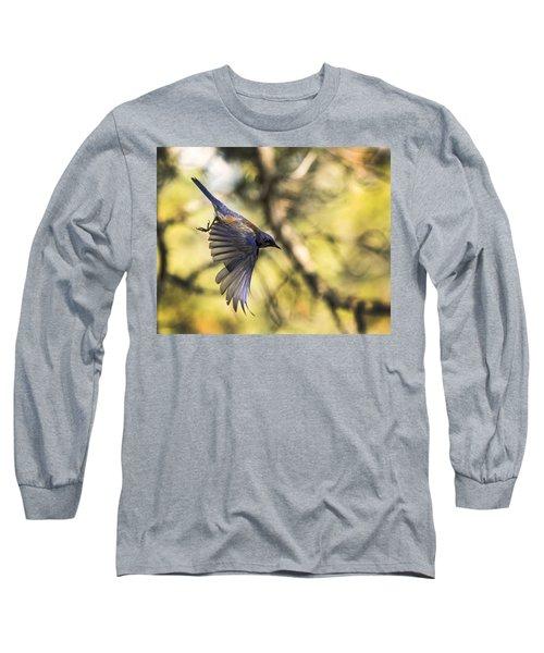 Western Bluebird Long Sleeve T-Shirt