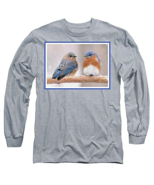Bluebird Love Long Sleeve T-Shirt