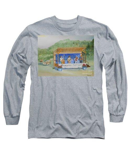 Bluegrass Festival Long Sleeve T-Shirt