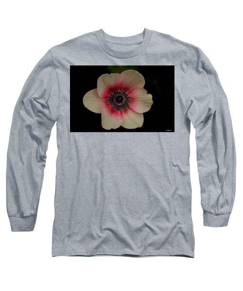 Blushing  Long Sleeve T-Shirt by Uri Baruch