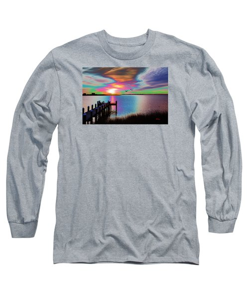 Boat Dock 2 Long Sleeve T-Shirt