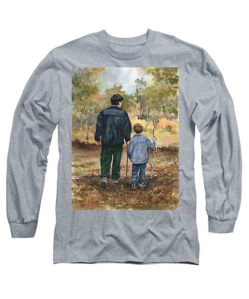 Bob And Alex Long Sleeve T-Shirt by Sam Sidders