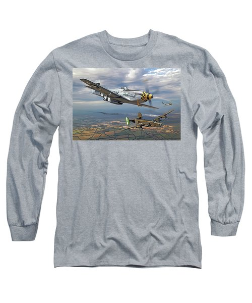 Bobak's Crew Long Sleeve T-Shirt