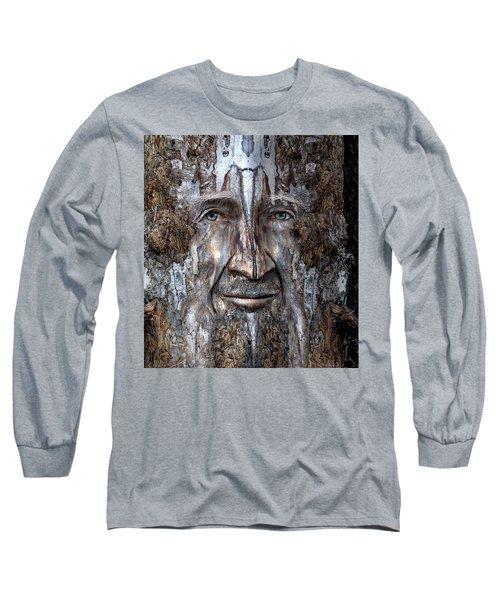 Bobby Smallbriar Long Sleeve T-Shirt by Rick Mosher