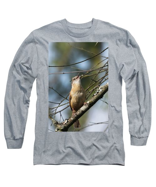 Bobolink Singing Long Sleeve T-Shirt