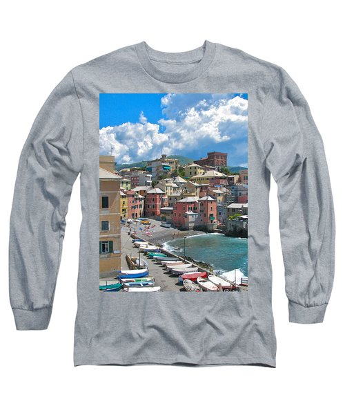 Boccadasse 2-genova, Italy Long Sleeve T-Shirt