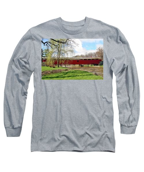 Bogert Covered Bridge Long Sleeve T-Shirt