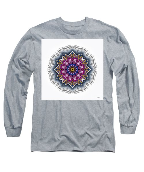 Long Sleeve T-Shirt featuring the digital art Boho Star by Mo T