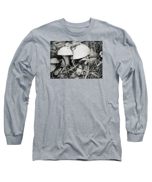 Long Sleeve T-Shirt featuring the photograph Boletus Mushrooms by Juls Adams