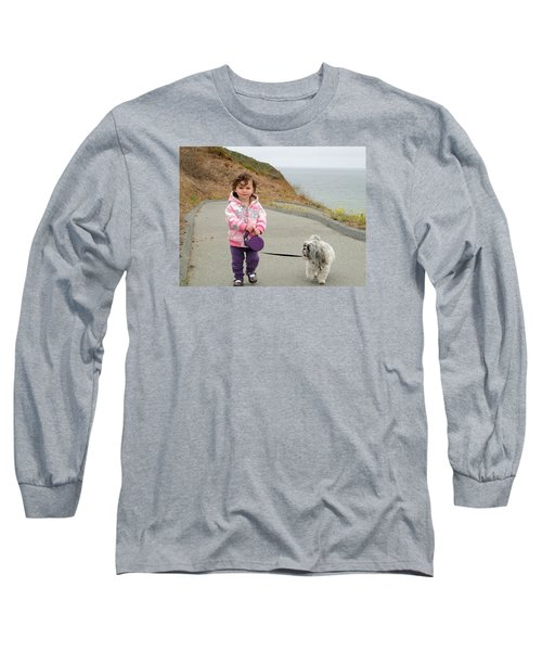 Long Sleeve T-Shirt featuring the photograph Bond by Nick David