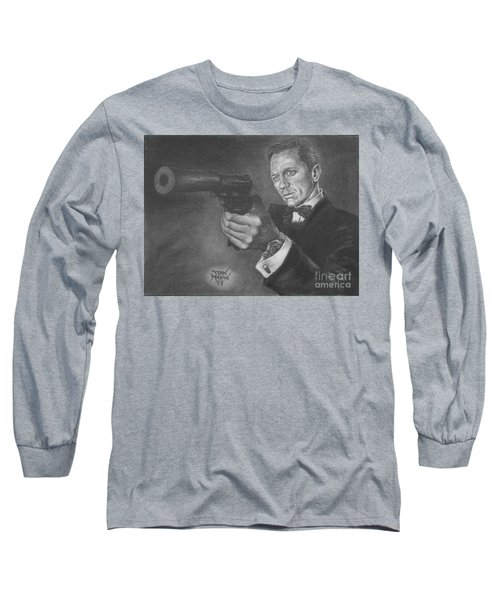 Bond Portrait Number 3 Long Sleeve T-Shirt