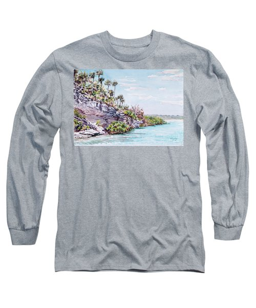 Bonefish Creek Watercolour Study Long Sleeve T-Shirt