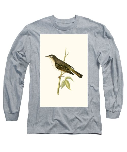 Bonelli's Warbler Long Sleeve T-Shirt by English School