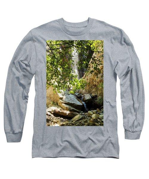 Bonita Falls Through Leaves Long Sleeve T-Shirt