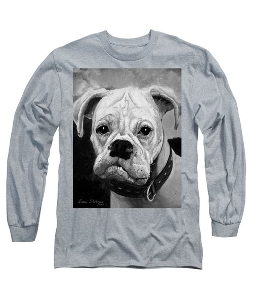Boo The Boxer Long Sleeve T-Shirt