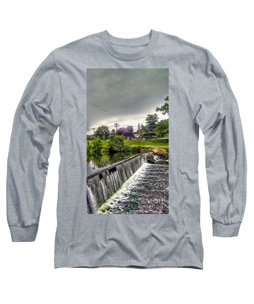 Boonton New Jersey Spillway Long Sleeve T-Shirt