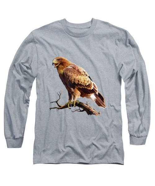 Booted Eagle  Long Sleeve T-Shirt