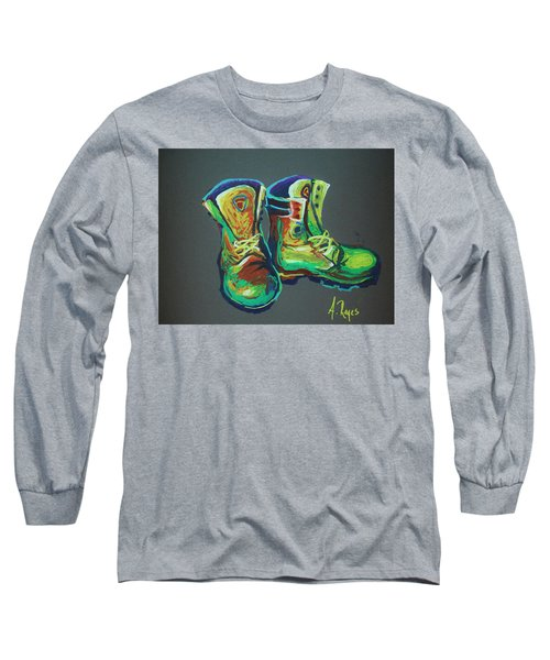 Boots Long Sleeve T-Shirt