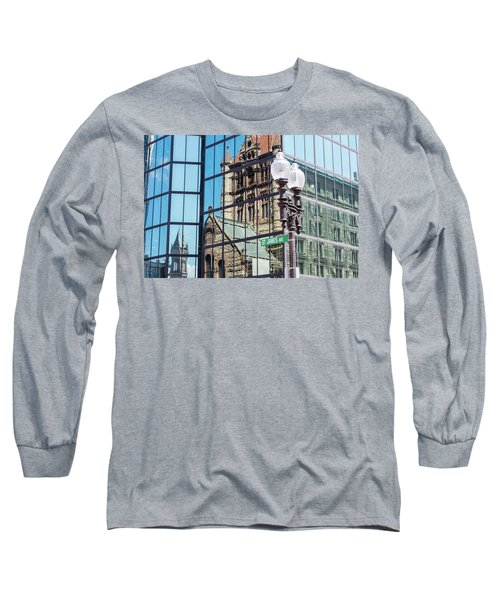 Boston At Different Angle Long Sleeve T-Shirt