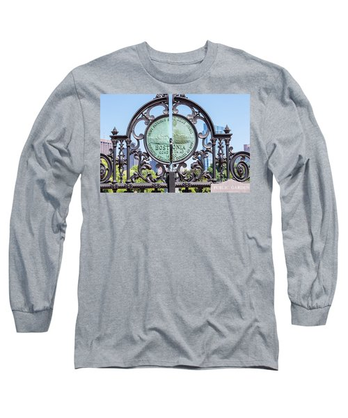 Boston Garden Gate Detail Long Sleeve T-Shirt