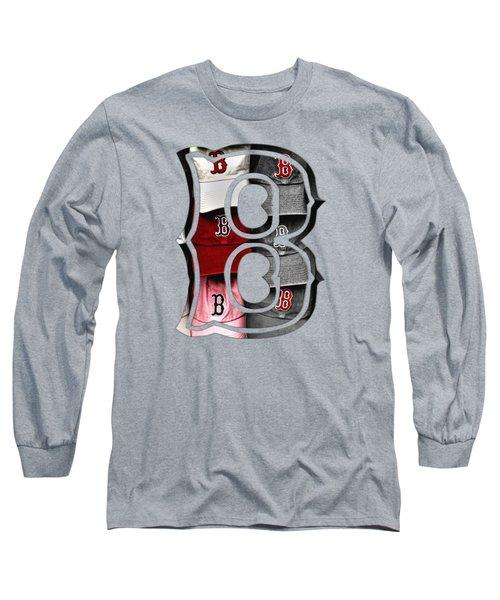 Boston Red Sox B Logo Long Sleeve T-Shirt