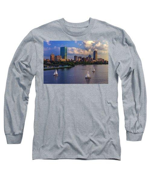 Boston Skyline Long Sleeve T-Shirt