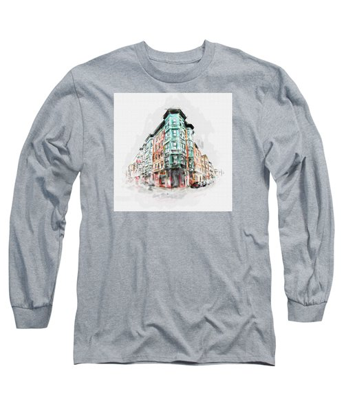 Bostons North End 222 1 Long Sleeve T-Shirt