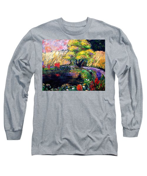 Botanical Garden In Lund Sweden Long Sleeve T-Shirt