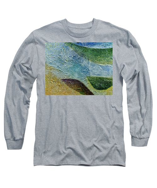 Long Sleeve T-Shirt featuring the painting Botany I by John Hansen