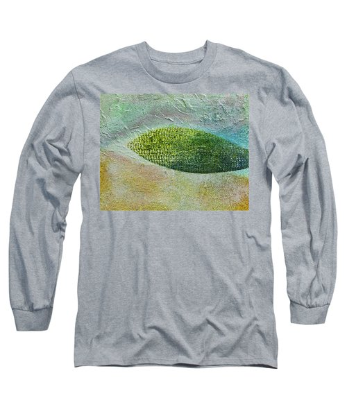 Long Sleeve T-Shirt featuring the painting Botany II by John Hansen