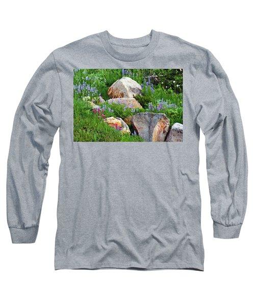 Boulder Blooms Long Sleeve T-Shirt