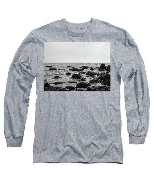 Boulders In The Ocean Long Sleeve T-Shirt