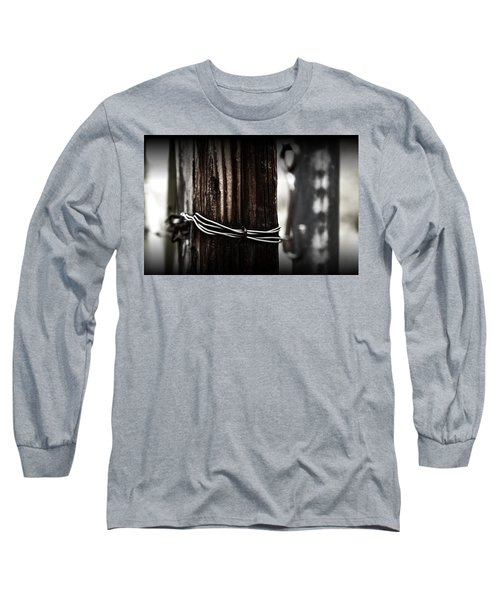 Long Sleeve T-Shirt featuring the photograph Bound  by Mark Ross
