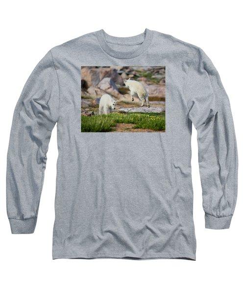 Bounder Long Sleeve T-Shirt by Jim Garrison