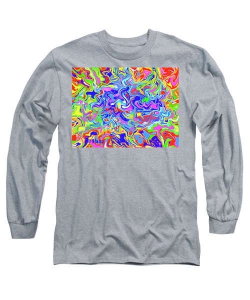 Boundless Long Sleeve T-Shirt by Yvonne Blasy